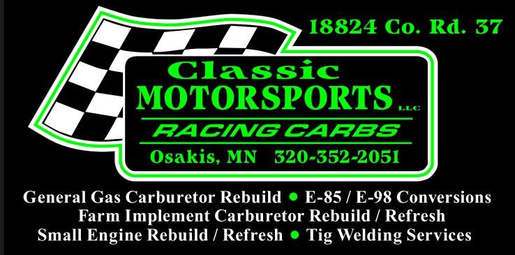 classic motorsports sign