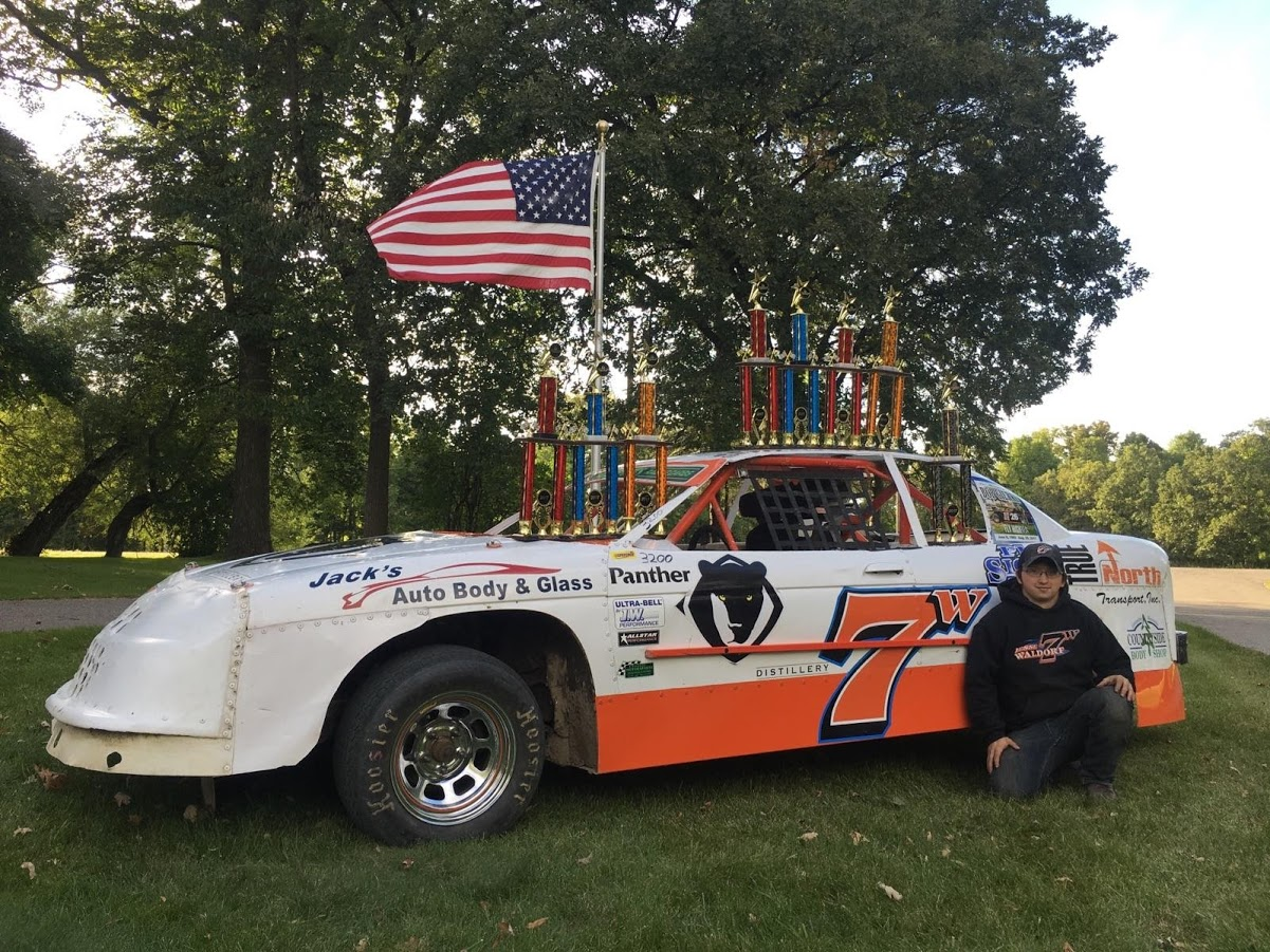 Winning Car with Jesse Waldorf, owner of Classic Motorsports