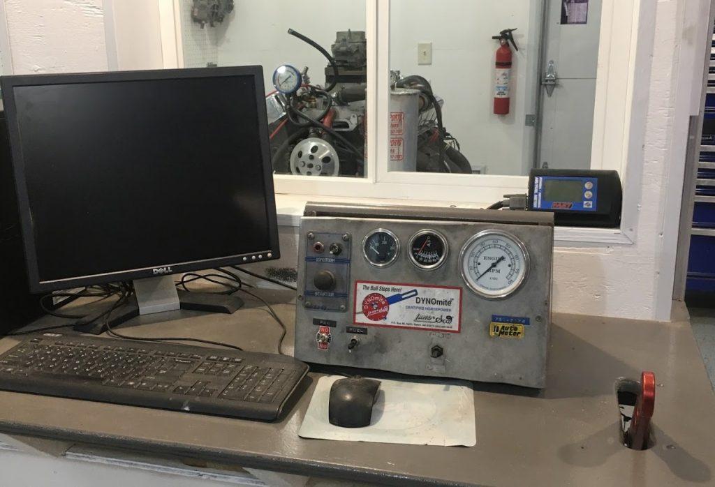 carburetor testing control panel